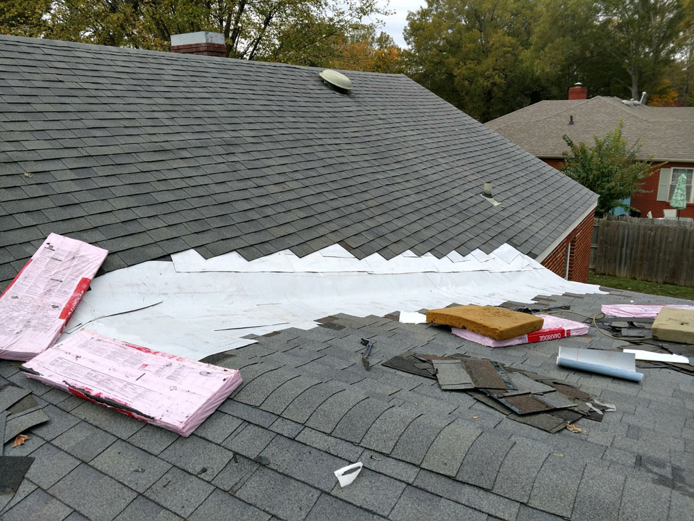 Roof Valley Repair
